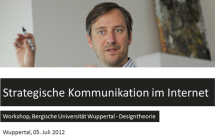 Workshop zur strategischen Kommunikation im Internet