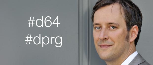 Christian Dingler - Mitglied bei d64 und DPRG