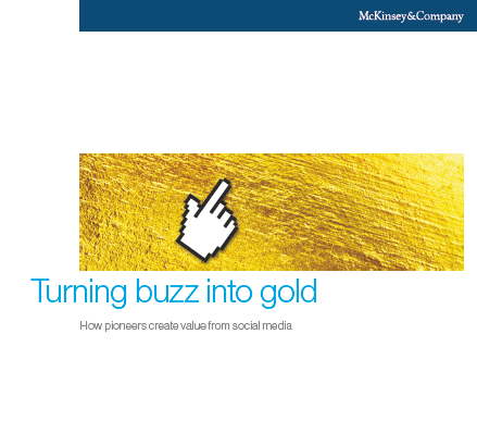 Studie von McKinsey zur Wertschöpfung von Social Media