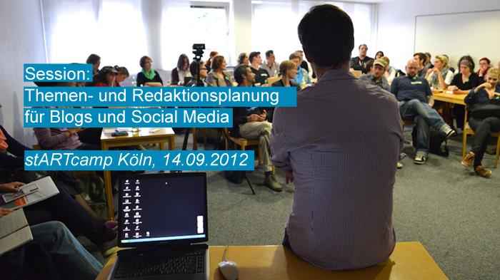 Titelbild Session Themen- und Redaktionsplanung