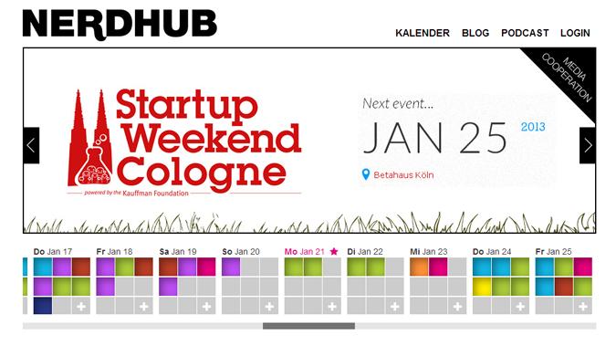 Startseite von www.nerdhub.de