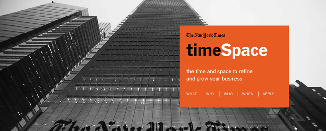 Time Space - der Inkubator der New York Times
